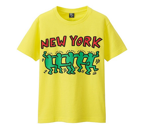New range of Keith Haring t-shirts for kids at Uniqlo