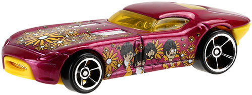 The Beatles' Yellow Submarine movie becomes a Hot Wheels collection