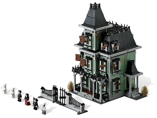 Lego Halloween Series Haunted House