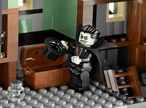 Lego Halloween Series Haunted House