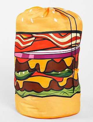 Hamburger Laundry Bag at Urban Outfitters