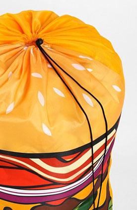 Hamburger Laundry Bag at Urban Outfitters