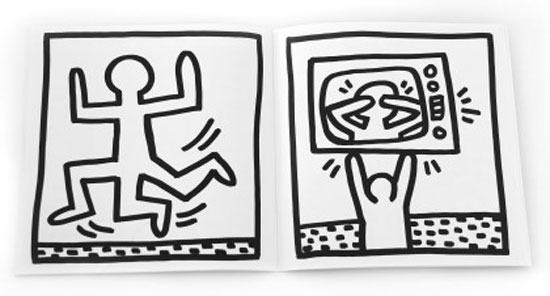 My First Coloring Book by Keith Haring - Junior Hipster