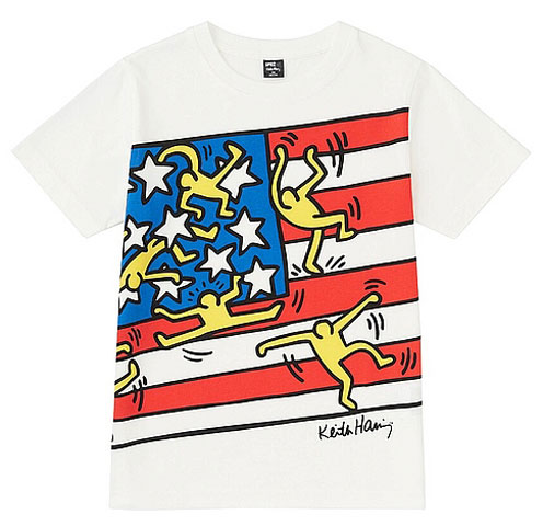 Arty kids: New Keith Haring t-shirts at Uniqlo