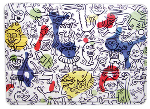 Keith Haring metal paint box for kids by Vilac