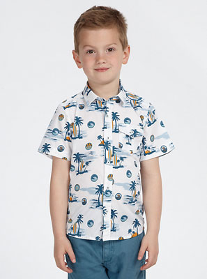 John Lewis Boy Hawaiian Shirt