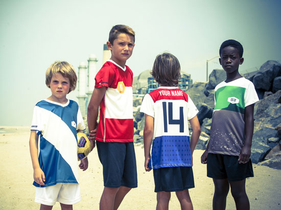 Customised football shirts by Heroes and Hooligans