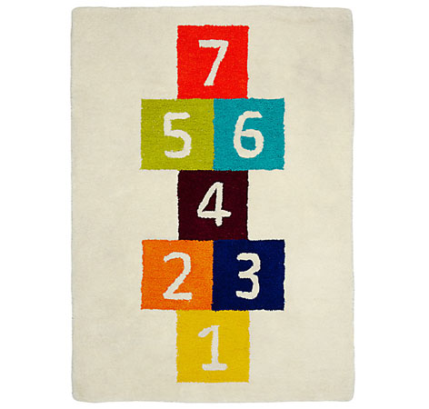 Hopscotch Rug by Little Home at John Lewis