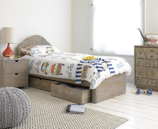 Blow Horn bed linen at Loaf