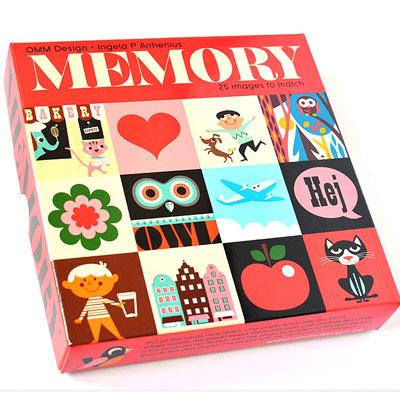 Midcentury-style Ingela P Arrhenius Memory Game