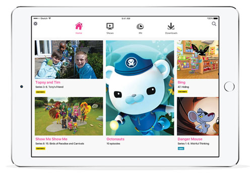 BBC launches age-appropriate iPlayer Kids app