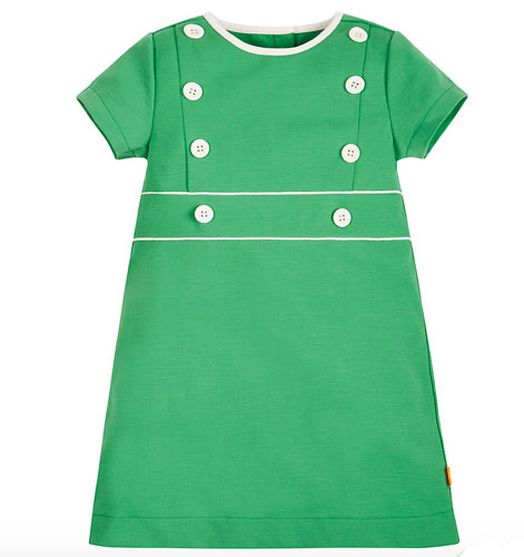 1960s-style Little Bird by Jools Green Button Dress