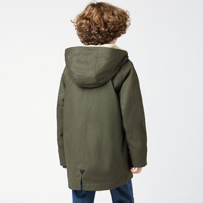 Lacoste hooded water repellent jacket