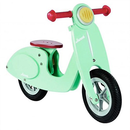 Vespa-style scooter for kids by Janod