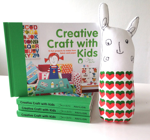 Creative Craft With Kids Book by Jane Foster