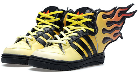Adidas ObyO x Jeremy Scott Flames Infants trainers