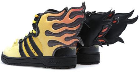 Adidas ObyO x Jeremy Scott Flames Infants trainers