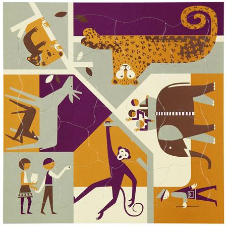 1960s Fredun Shapur jigsaw puzzles