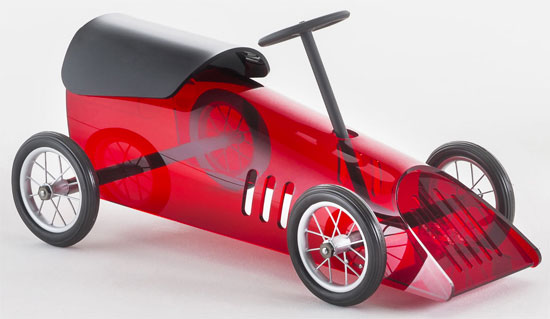 Stylish wheels: Discovolante Toy Car by Piero Lissoni for Kartell