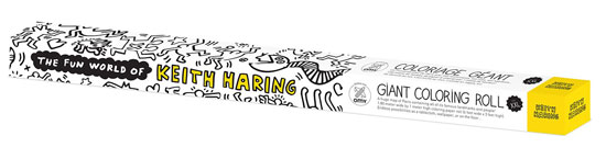 OMY x Keith Haring colouring roll