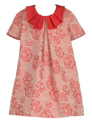 Hucklebones Rose Jacquard Dress