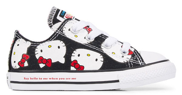 Converse x Hello Kitty footwear range now available