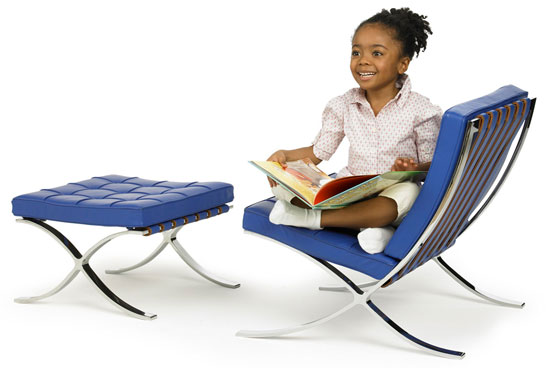 Knoll Barcelona Chair for Kids