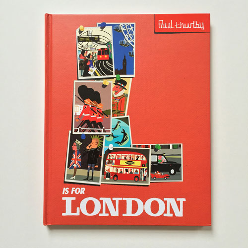 L is for London book by Paul Thurlby