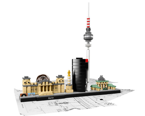 Mini architect: City skylines now available from Lego Architecture