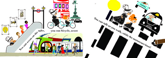 London Calls by Gabby Dawnay and Alex Barrow