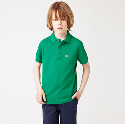 Lacoste classic fit polo shirts for children