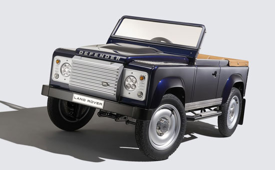 60th anniversary Land Rover Defender pedal car
