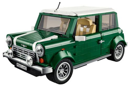 Lego announces its upcoming Mini Cooper model kit