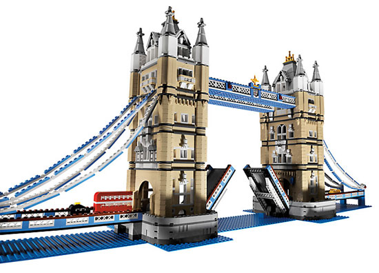 Lego Tower Bridge at John Lewis