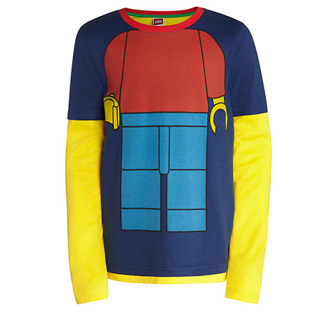 Lego Man top at John Lewis