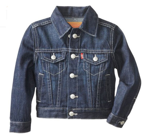 Classic Levi's denim jacket for kids