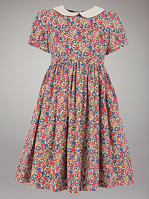 John Lewis Heirloom Collection vintage-style Liberty Dress
