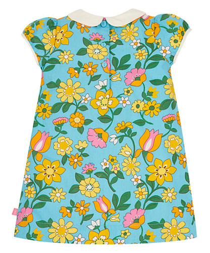 Back on the shelves: 1960s-style Little Bird by Jools floral collar dress