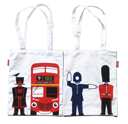 Local Folk Book Bags