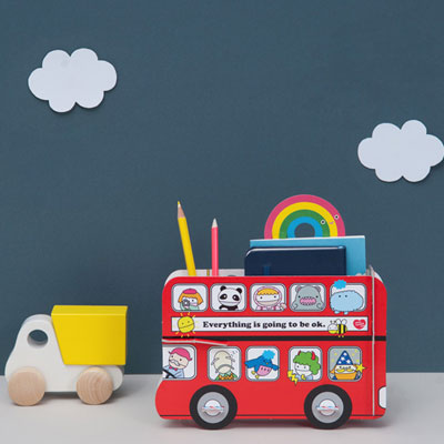 Noodoll London Bus Stationary Holder