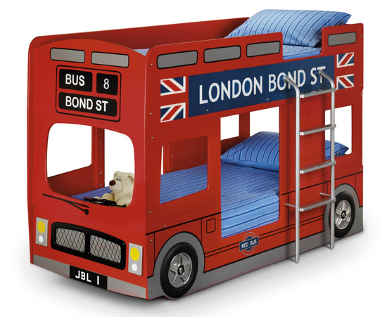 London Bus Bunk Bed by George Home