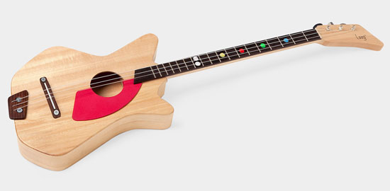 Loog three-string DIY guitar for kids