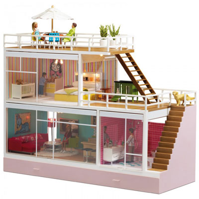 Lundby Scandinavian dolls houses and miniature furnishings