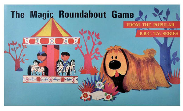 1960s Magic Roundabout board game reissued