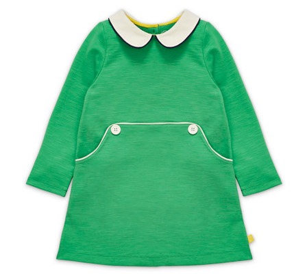 Little Bird by Jools Retro Peter Pan Collar Dress