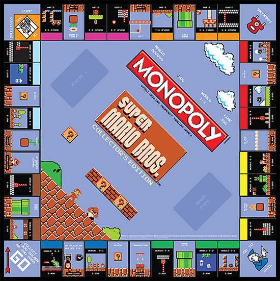 Super Mario Bros Classic Monopoly