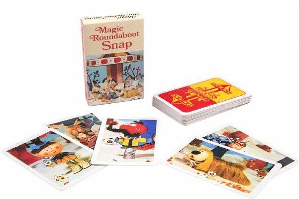 Retro play: Magic Roundabout Dominoes and Snap