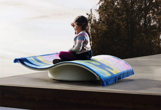 Eero Aarnio-designed Flying Carpet for Magis