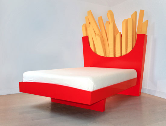 McSleep: The Supersize Bed bed by Cecilia Carey