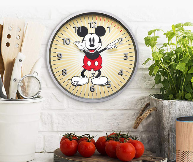 Disney launches Alexa-powered Mickey Mouse Echo wall clock